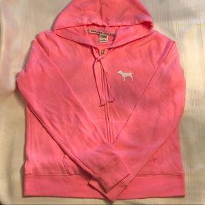 PINK Victoria's Secret Sweatshirt Jacket